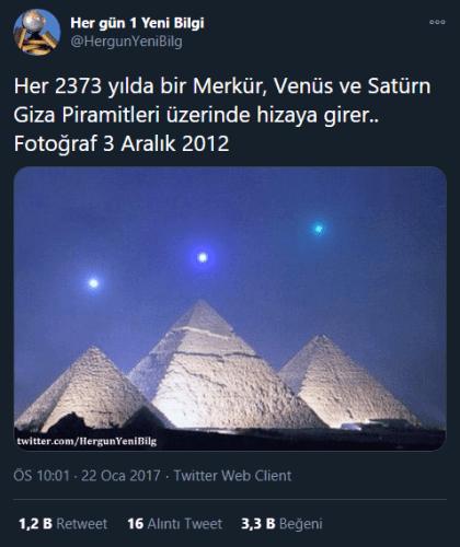 Giza Piramitleri Gezegen