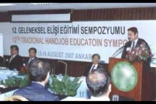 geleneksel elişi eğitimi sempozyumu traditional handjob symposium