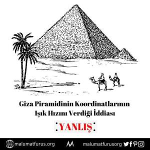 piramit ışık hızı