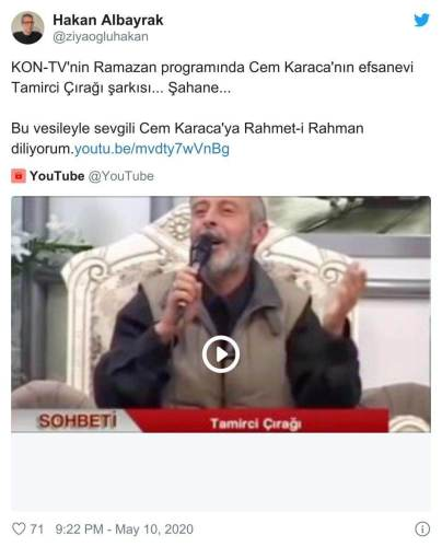 ramazan programı tamirci çırağı