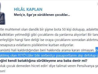 Hilal Kaplan'ın KHKlılara pasaport yasağının olmadığını iddia ettiği köşe yazısı