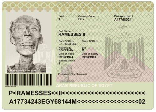ikinci ramses pasaport