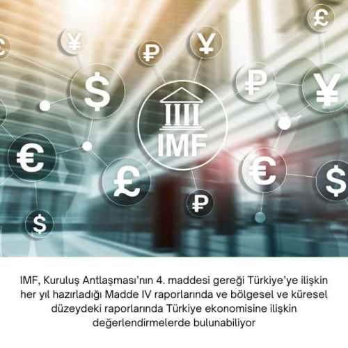 imf türkiye ekonomisi değerlendirme