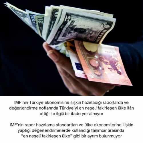 imf türkiye değerlendirmesi