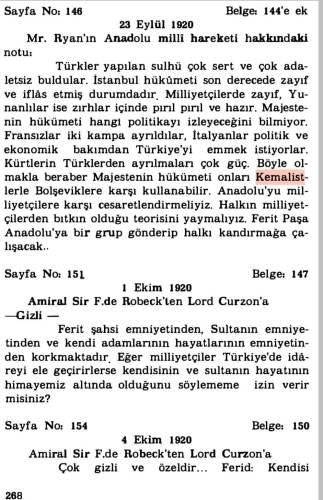 ingiliz gizli belgelerinde türkiye