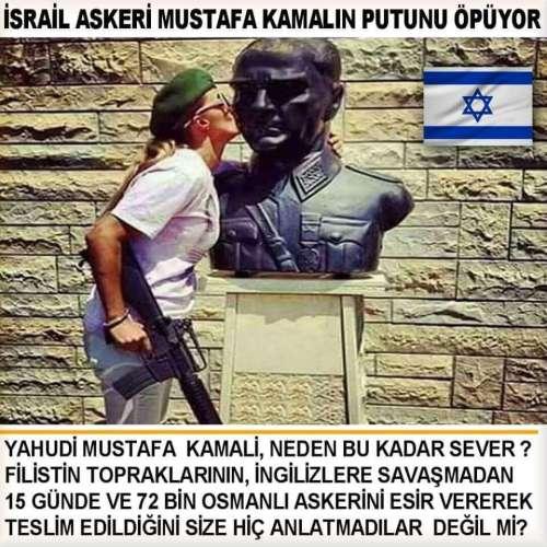 israil askeri mustafa kemal putu