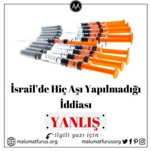israil aşı