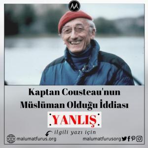 Kaptan Kusto Müslüman Mı