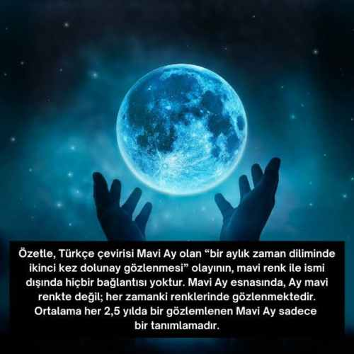 mavi ay nedir