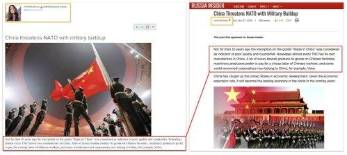 Melek İsmail Kızı adlı sahte profil tarafından oluşturulan makalenin başka sitelerde farklı isimlerde yayınlandığı görülüyor