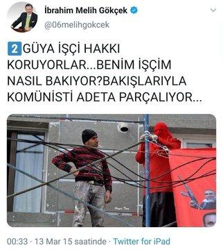 işçiden eylemciye bakış