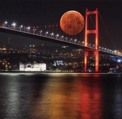 montaj ay fotoğrafı