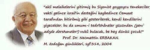 necmettin erbakan m. özdoğan günlükleri