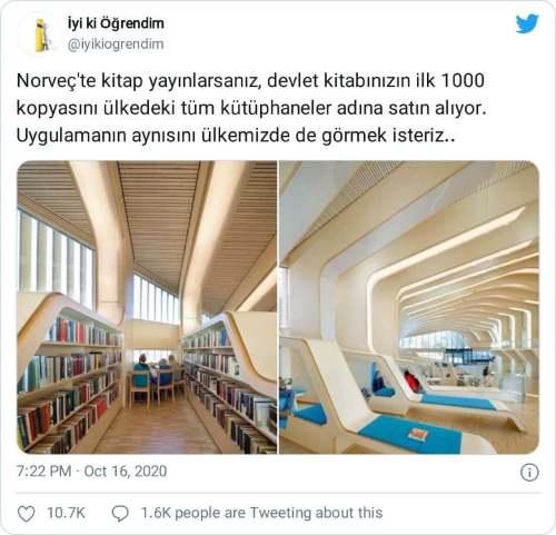 norveçte kitap yayınlarsanız devlet ilk 1000