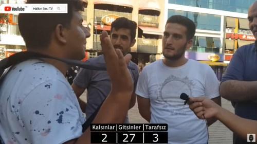 suriyeli sığınmacı röportajı