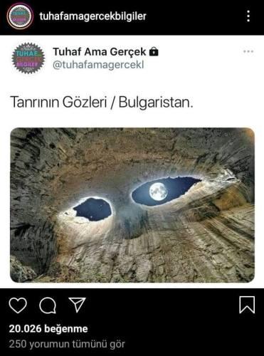 tanrının gözleri bulgaristan