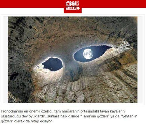 tanrının gözleri mağarası