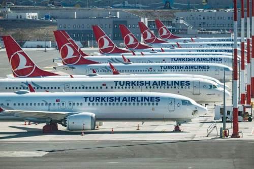 türk hava yolları apron