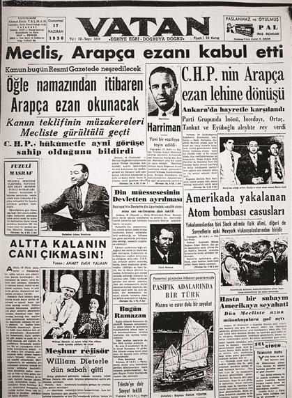 turkce ezan kaldirildi