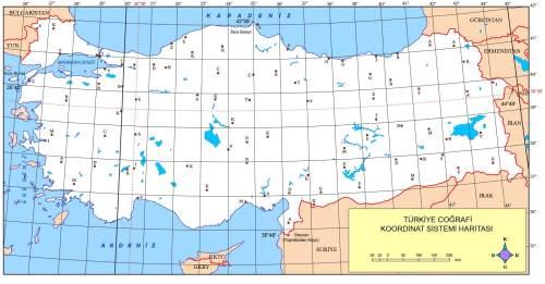 türkiye coğrafi koordinatlar
