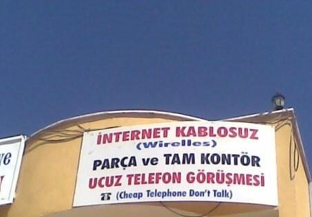 ucuz telefon görüşmesi cheap telephone dont talk