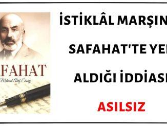 Yavuz Bahadıroğlu'nun İstiklâl Marşı'nın Safahat'ta Yer Aldığı ve İstiklâl Marşını Safahat'ten Okuduğu İddiası Asılsız