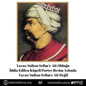 yavuz sultan selim küpeli resim