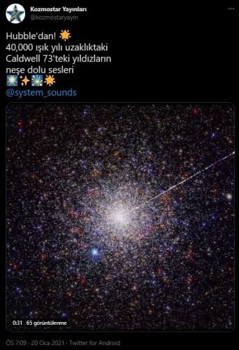yıldız sesleri kaydı iddiası