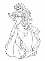 Ausmalbilder zum Drucken Malvorlage Disney Prinzessinnen ...
