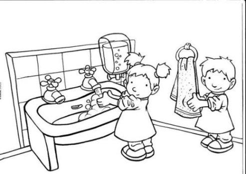 Ausmalbilder zum Drucken Malvorlage Kindergarten kostenlos 2