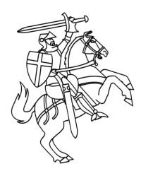 Ausmalbilder Ausdrucken Ritter Ritter Malvorlagen 12209
