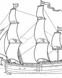 Malvorlagen von Schiffe kostenlos zum Ausdrucken