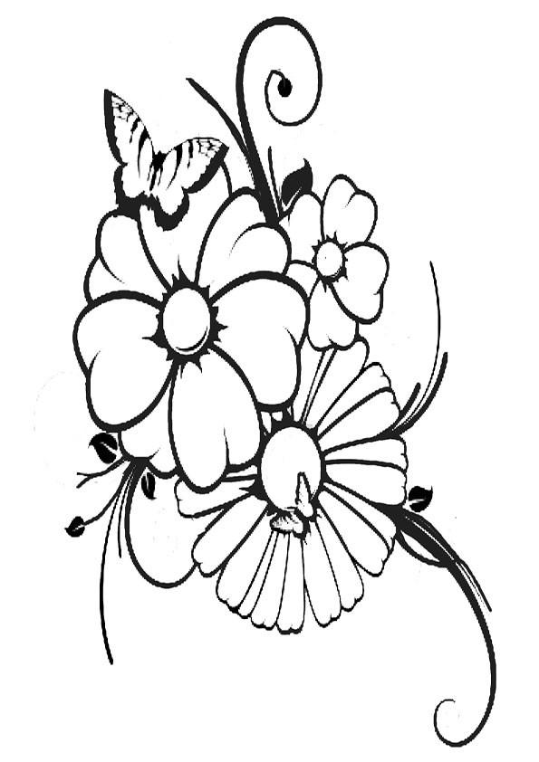 Malvorlagen- Blumen 10 Malvorlagen Ausmalbilder