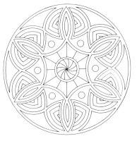 Malvorlagen Mandala 24   Malvorlagen Ausmalbilder