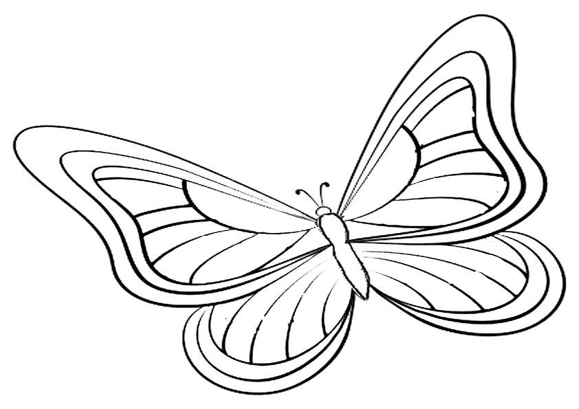 Malvorlagen-Schmetterling 11 Malvorlagen Ausmalbilder