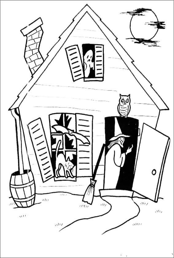 Malvorlagen Halloween-19 Malvorlagen Ausmalbilder