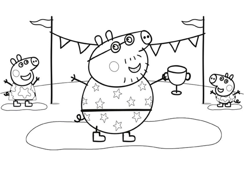 Malvorlagen Ausmalbilder Peppa Pig-7 Malvorlagen