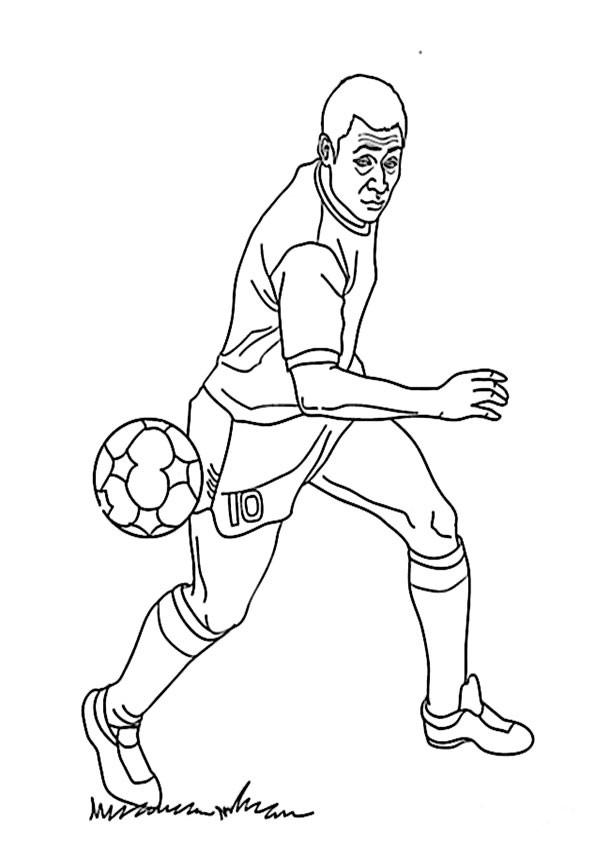 Fussball Malvorlagen Ausdrucken
