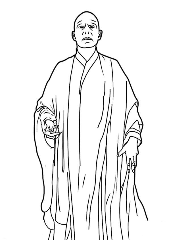 Harry potter-10 Malvorlagen Ausmalbilder