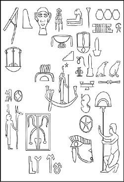 Ägypten Pyramiden und Sphinx - Malvorlagen und Ausmalbilder