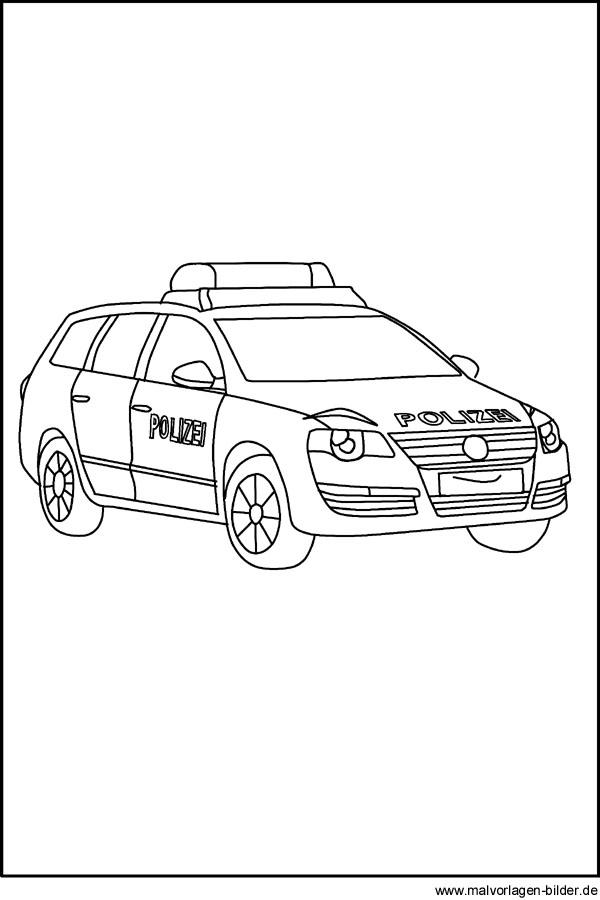 65 Polizeiauto Zum Ausdrucken - Malvorlagen für Kinder zum