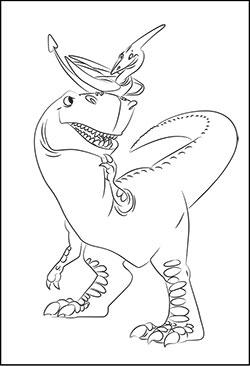 Malvorlage Dino Kinder - Kostenlose Malvorlagen Ideen