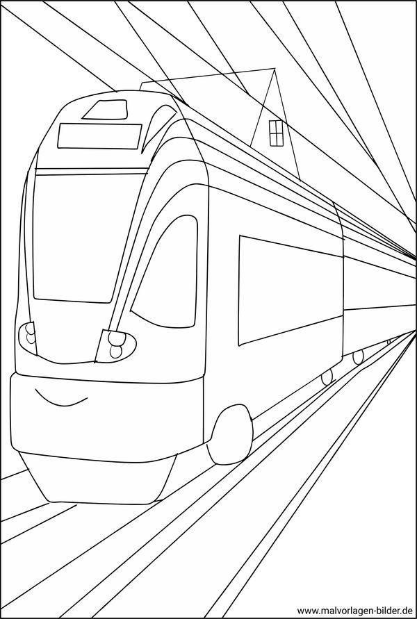 Straenbahn Gratis Malvorlagen Und Ausmalbilder