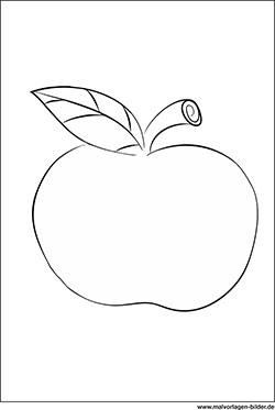 Obst und Gemüse Ausmalbilder & Malvorlagen