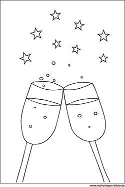 Geschirr Gläser Ausmalbilder & Malvorlagen
