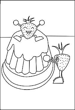 Malvorlagen und Ausmalbilder Geburtag Party und