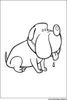 Kinder Malvorlagen Hund