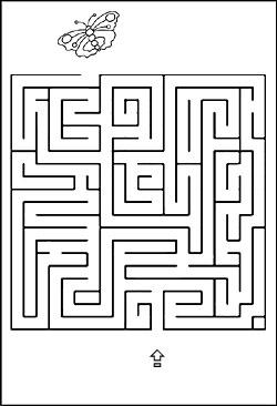 Labyrinth Bilder Fr Kinder Kinderrtsel