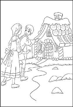 Malvorlagen und Ausmalbilder von Märchen