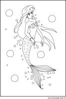 Kostenlose Malvorlagen Meerjungfrauen   Coloring and ...